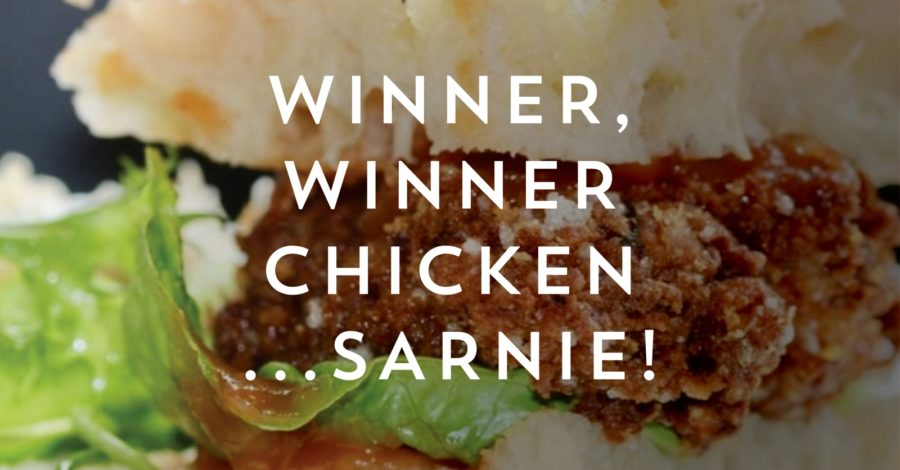 Win a year's supply of Blanchflower's famous Chicken Sandwich!