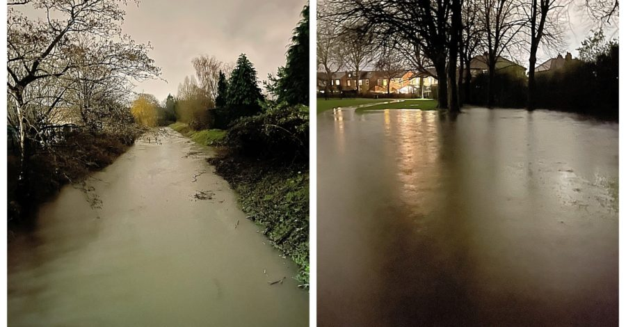"Flood warning issued for Timperley Brook with flooding of some properties ""possible"""