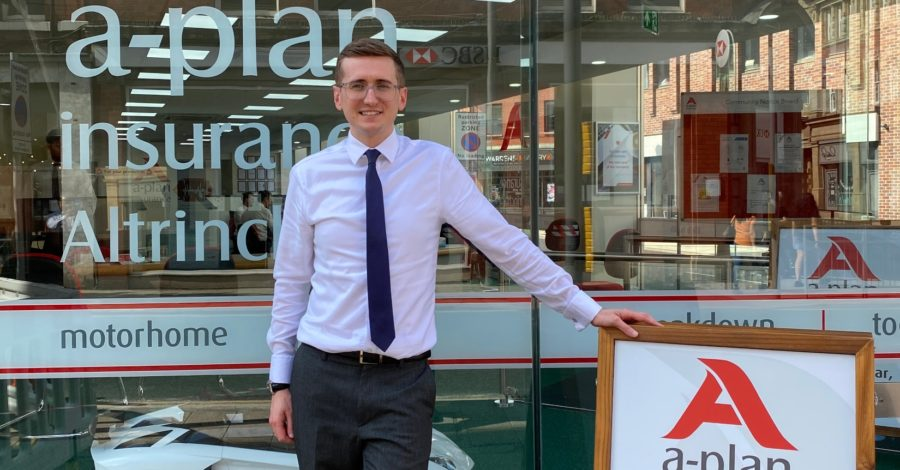 Altrincham insurance company A-Plan launches campaign to raise money for school laptops