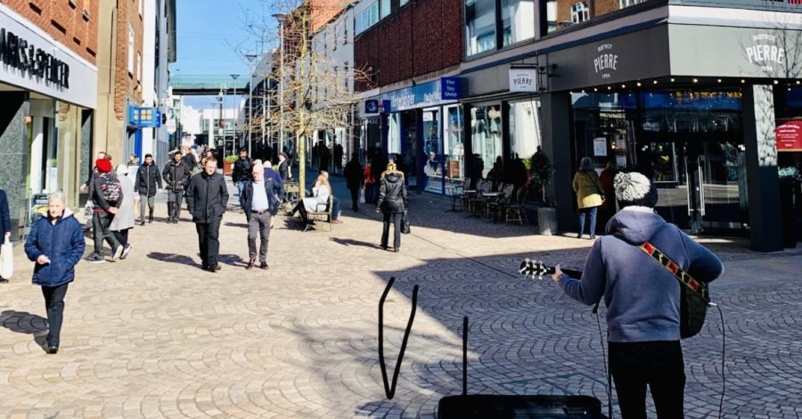 Buskers in Altrincham may have to move to a new location every hour under proposed new code of conduct
