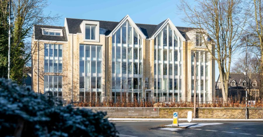Work has completed on landmark £22m development Alderbank