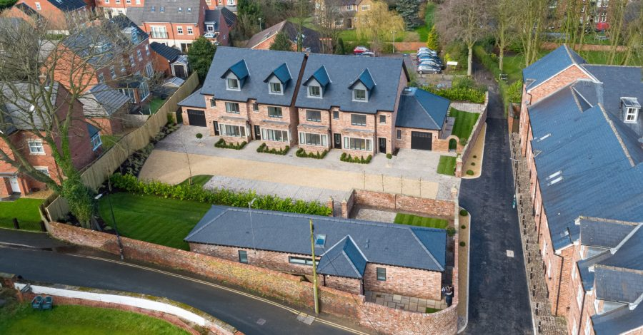 An Altrincham development has won an International Property Award