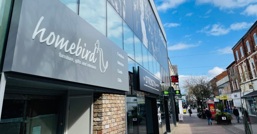 Homebird Interiors expands Altrincham presence after lockdown relocation to bigger town centre shop