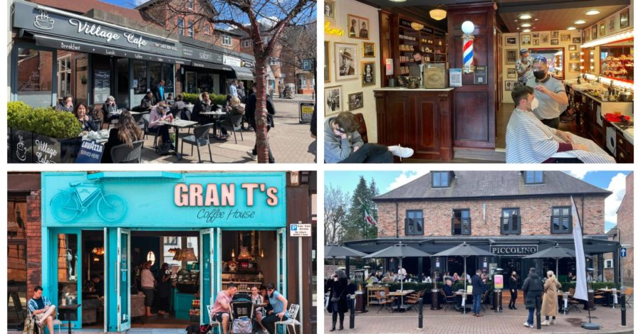 Altrincham residents enjoy first taste of freedom in 2021 as shops, salons, gyms, pubs and restaurants reopen