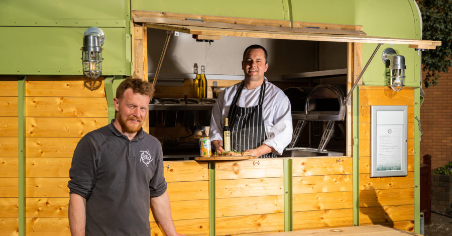 Bollin pizza den Into the Wild opens new outlet in Stamford Square