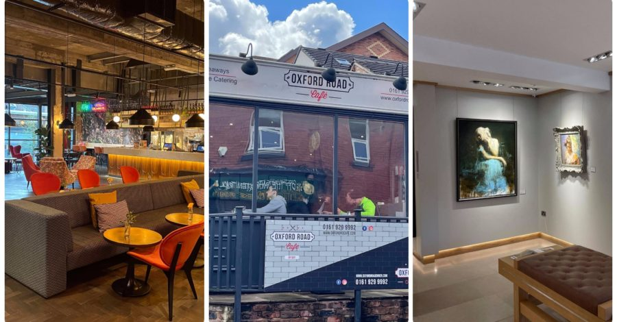 Welcome back! Joy and relief as Altrincham coffee shops, restaurants, cinemas and galleries reopen for first time this year