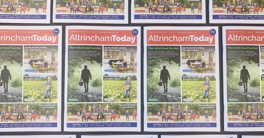 The Altrincham Today magazine returns next month – here's how to get involved