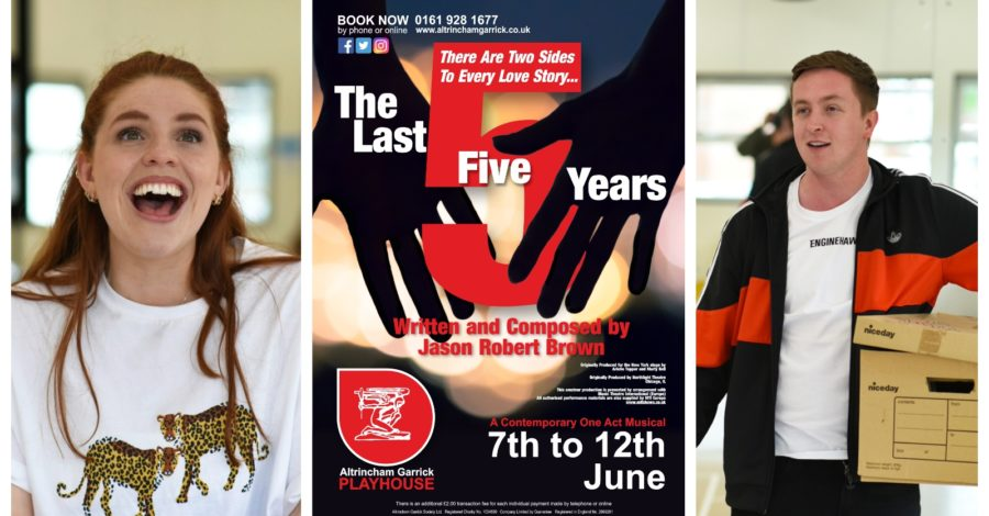 Live theatre returns to the Altrincham Garrick next week with award-winning musical The Last Five Years