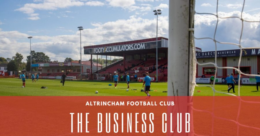 Welcome to the club! Altrincham Football Club announce new business initiative