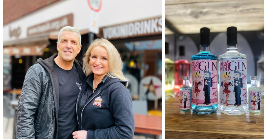 Altrincham café couple beat the lockdown blues by launching their own drinks brand