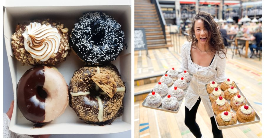 An artisan DOUGHNUT bakery is beginning deliveries to Altrincham this weekend
