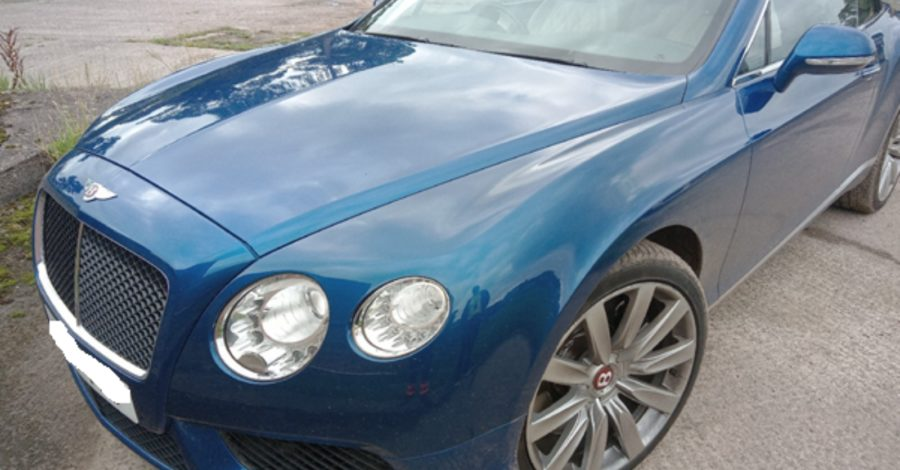 Hale Barns man arrested and £80,000 Bentley seized as part of investment fraud investigation