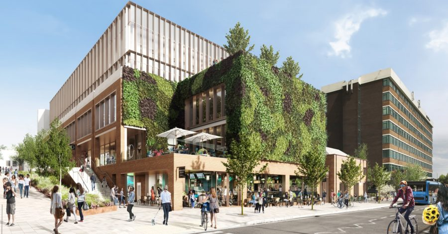 """Revealed: Plans for transformation of Rackhams will be """"gamechanger"""" for Altrincham – and include a 340 sq m living wall"""