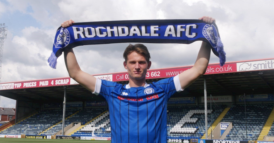 Altrincham-based Max Taylor signs for Rochdale – a year after cancer battle