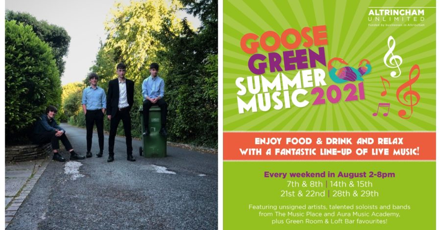 Altrincham band to honour 'Bravest Little Street in England' at Goose Green Summer Music event