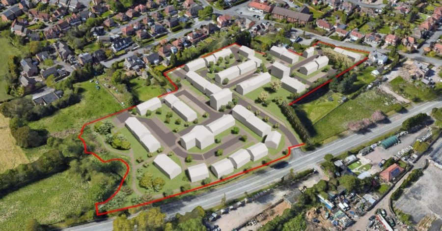 Plan revealed for 116 homes on the former World of Pets site in Timperley