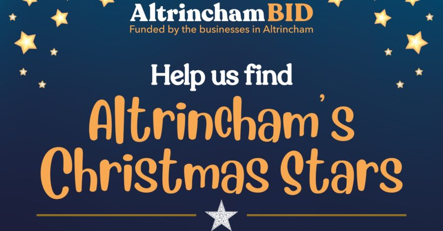 Nominate your Altrincham Stars who will switch on the Christmas lights this year