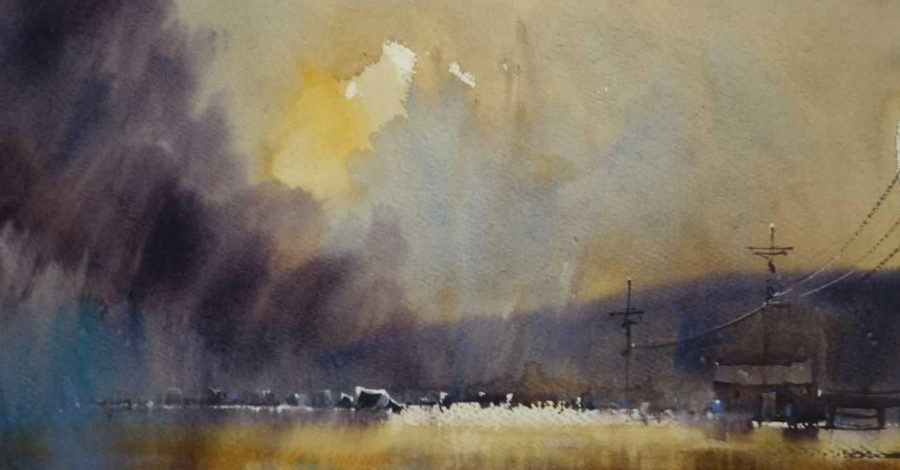 An art exhibition showcasing work from across the region is opening in Altrincham this Saturday