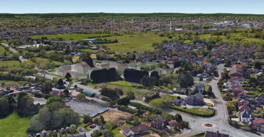 Plan submitted for 95 houses and 21 apartments on part-Green Belt land in Timperley