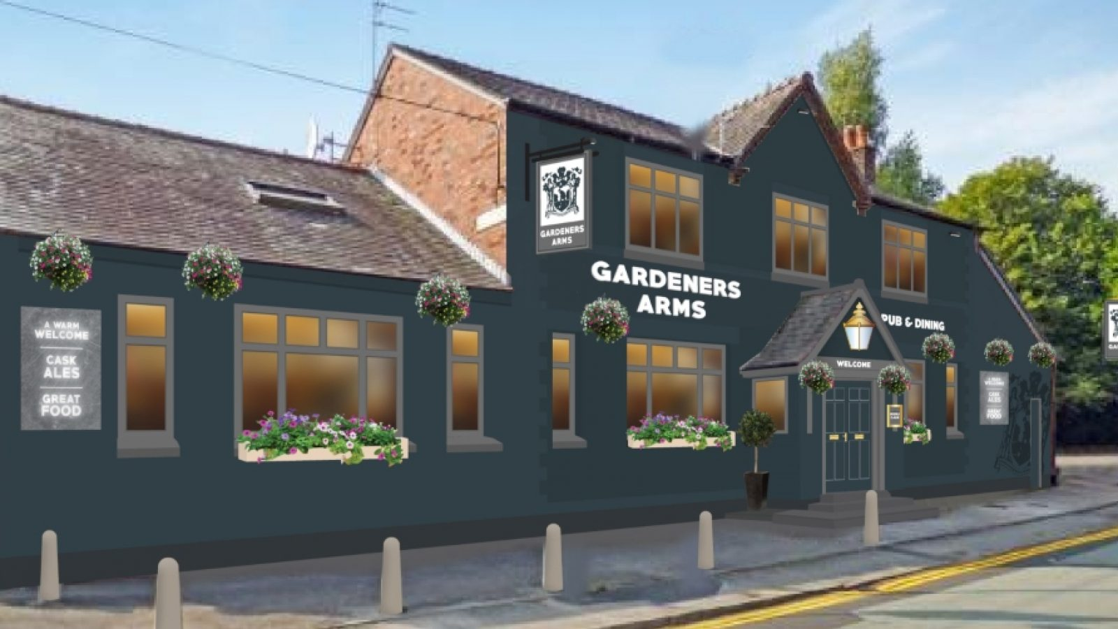 Gardeners Arms - Proposed Externals (003) (1)