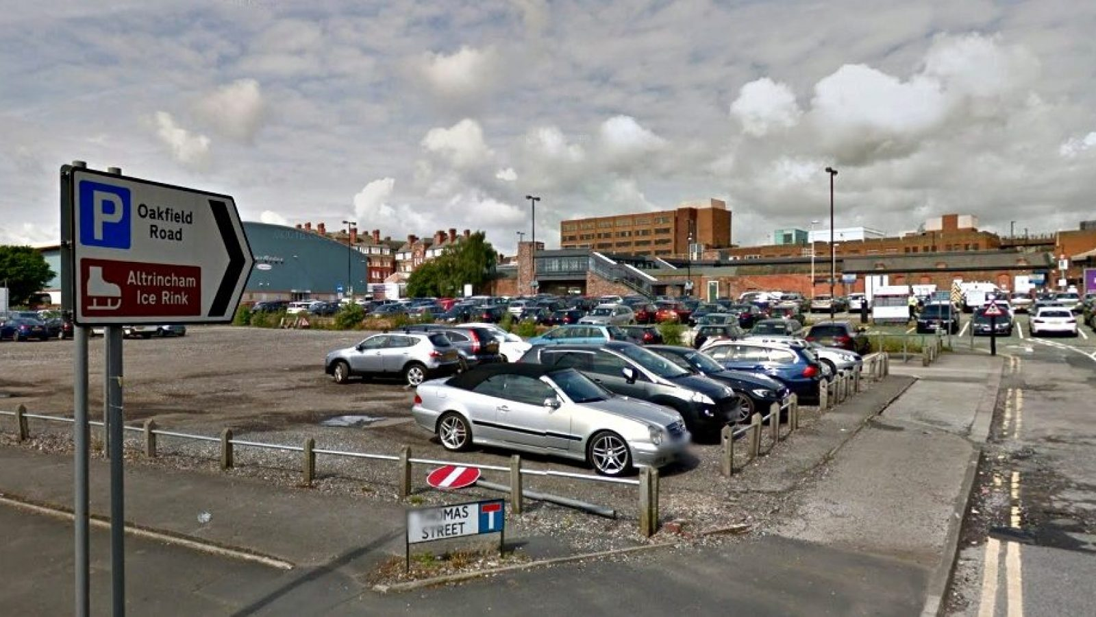 Oakfield Road car park as it is now