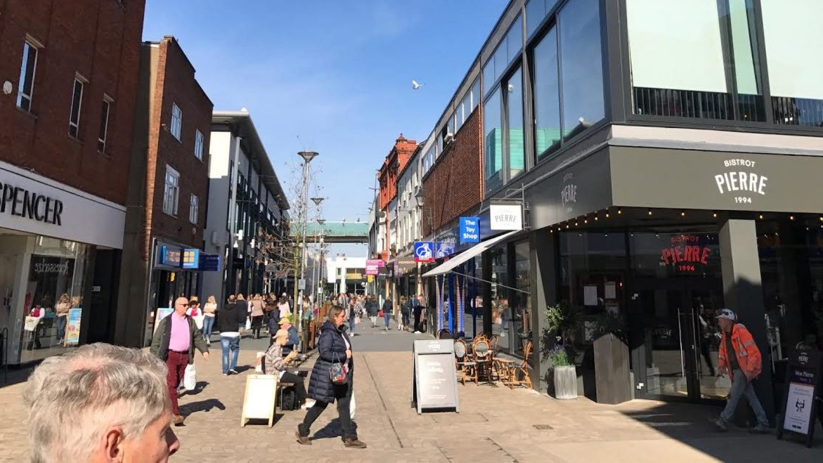 Non-essential shops in Altrincham will be allowed to reopen from this Monday