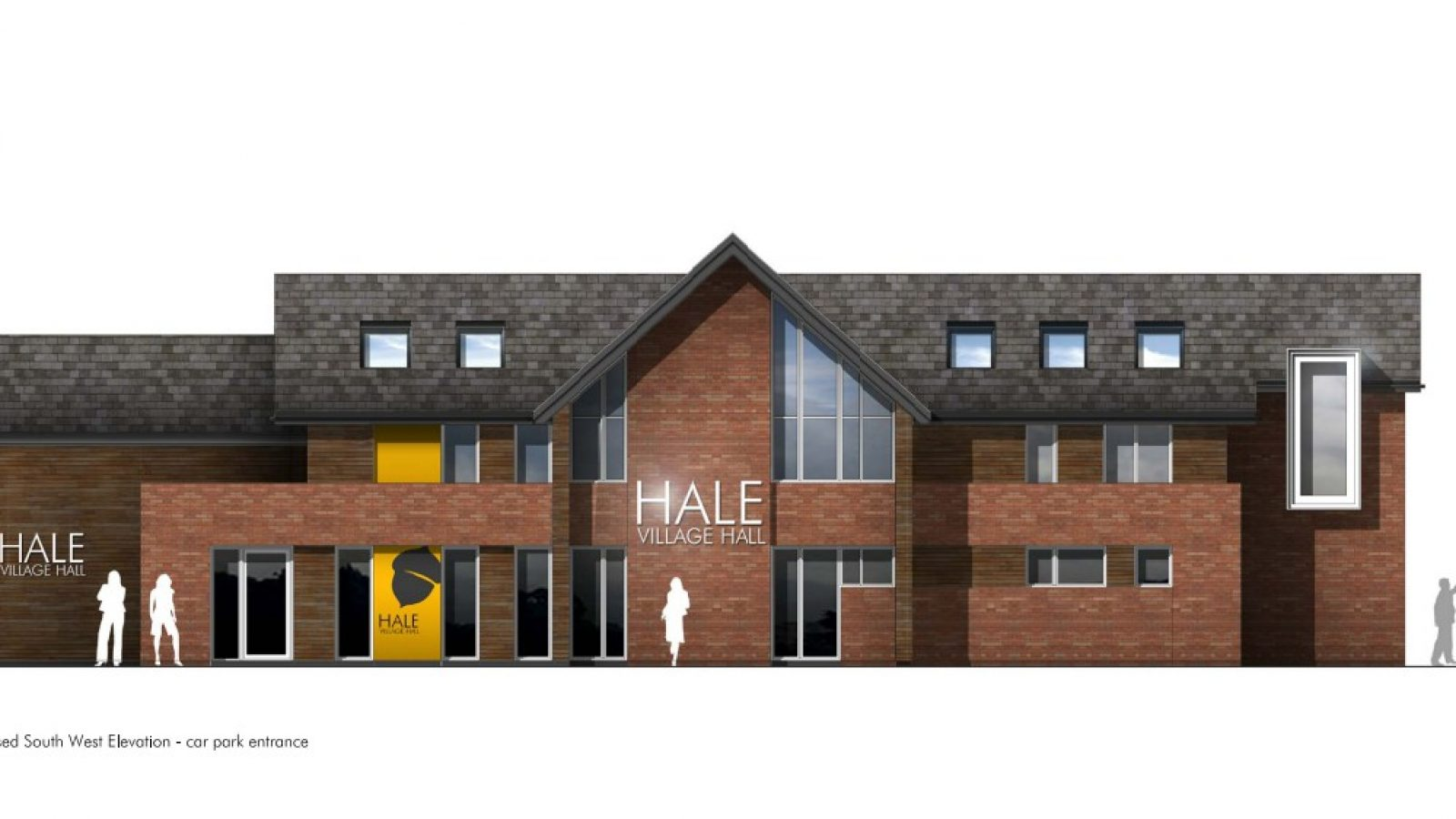 The new community centre will be built on the site of the current bowling green pavilion