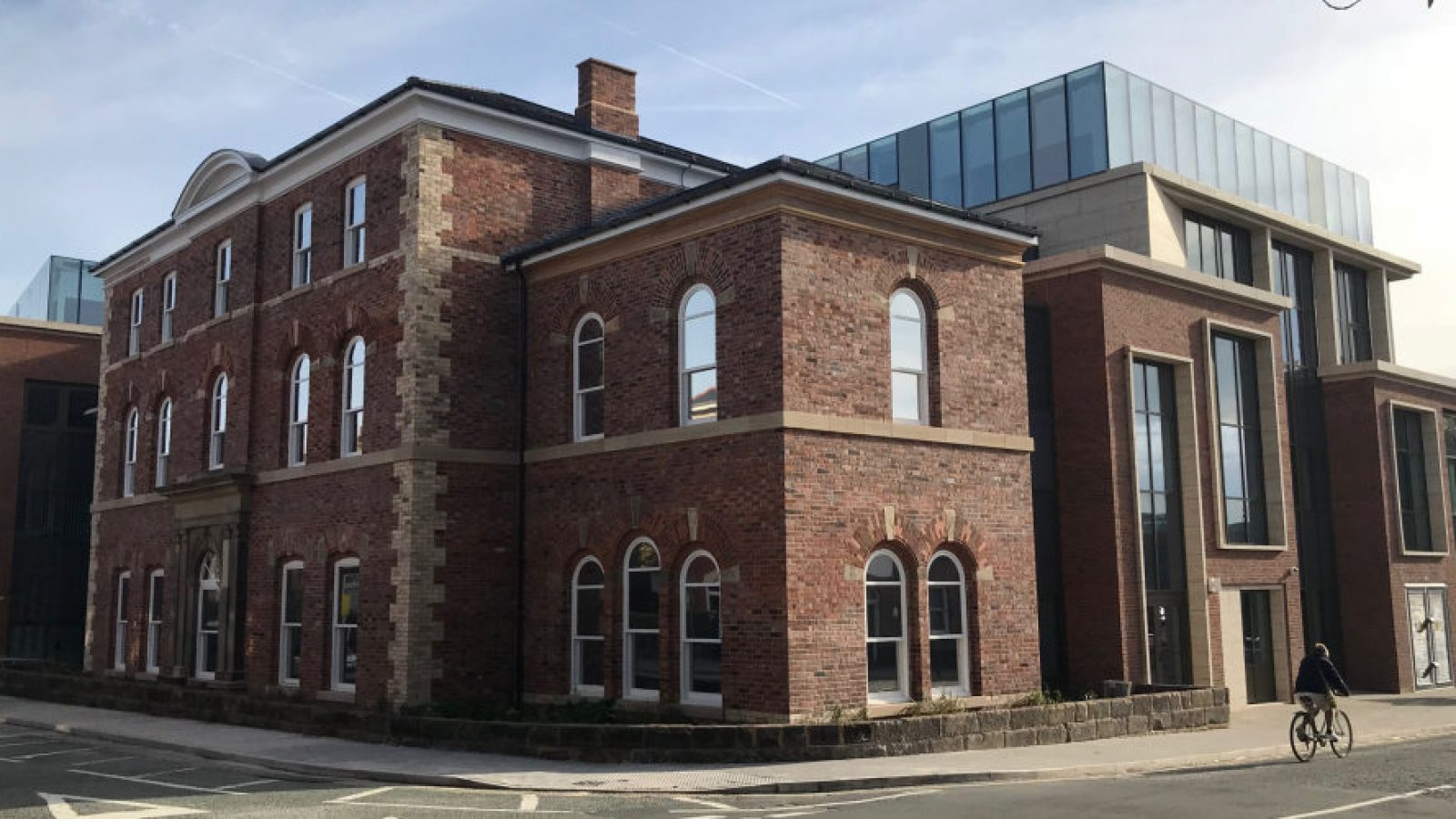 The health and wellbeing centre replaced the Victorian Altrincham General