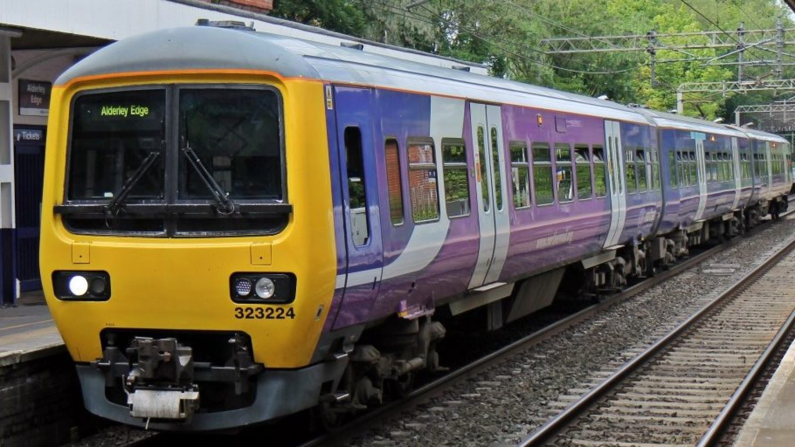 One of the current out-dated Northern trains, and below, one of the new models